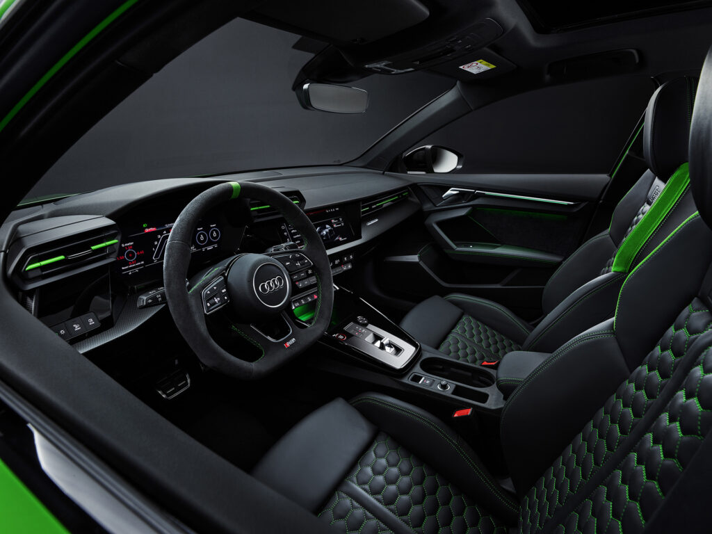 2022 Audi RS 3 Sedan interior