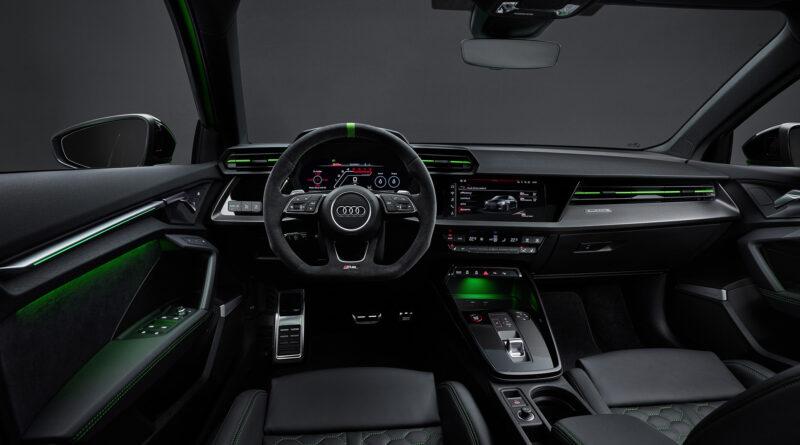 2022 Audi RS 3 Sedan interior cockpit
