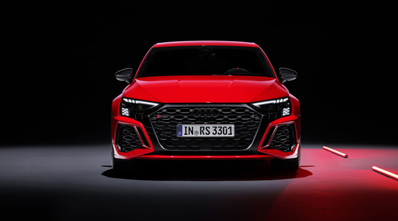 2022 Audi RS 3 Sportback. Front view