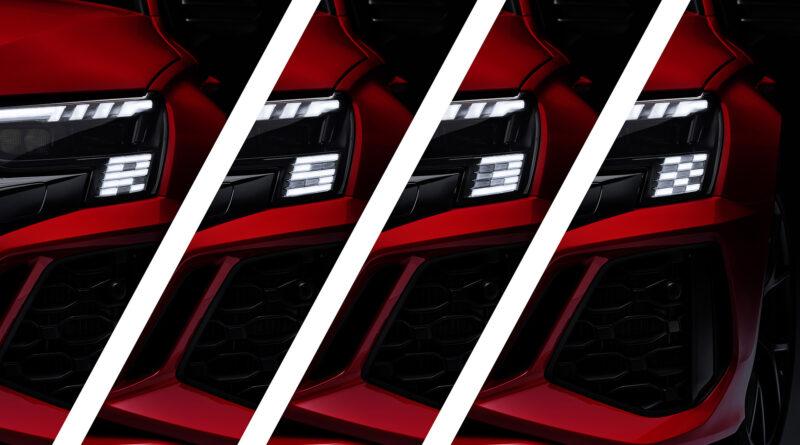 2022 Audi RS 3 Sportback. Matrix LED headlights