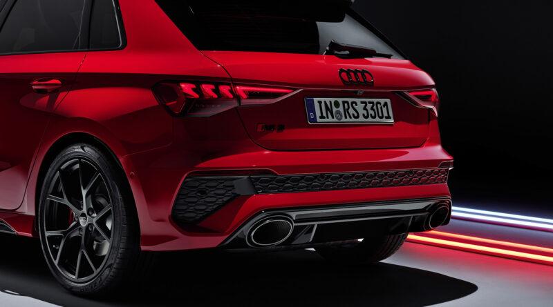 2022 Audi RS 3 Sportback. rear view