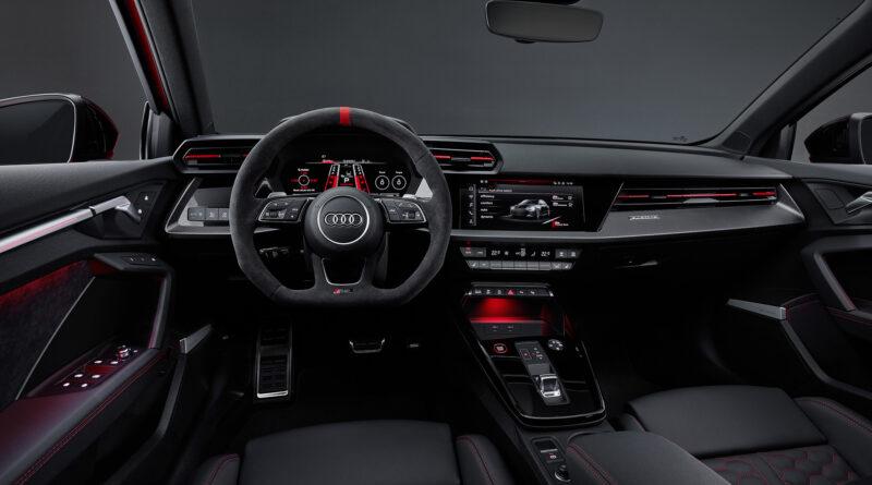 2022 Audi RS 3 Sportback. Interior cockpit view