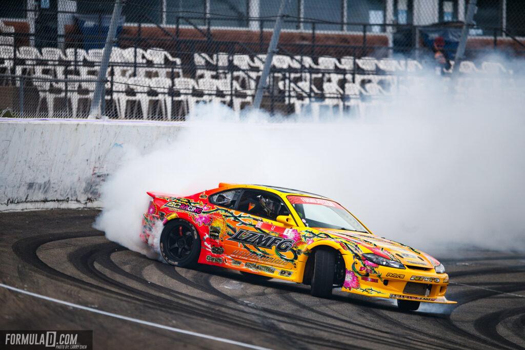 Formula Drift 2021 Round 4. Adam LZ. Photo by Larry Chen