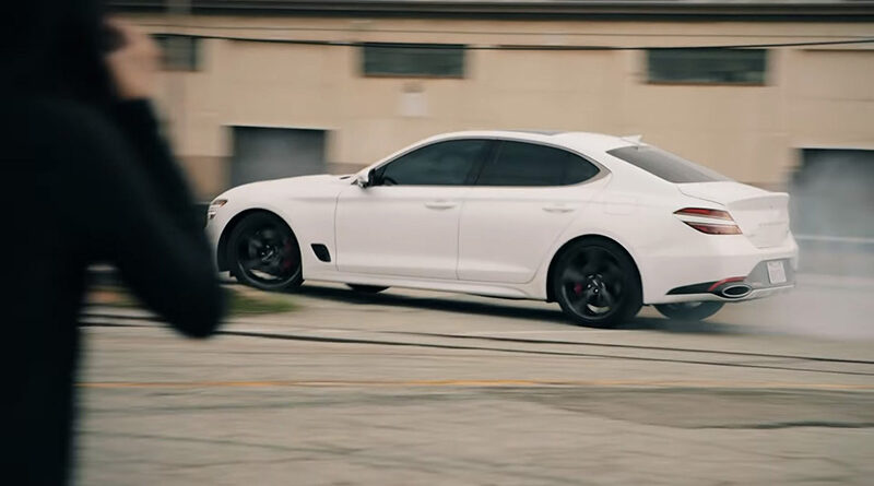 Genesis G70 Shutter Speed with Caitlin Ting
