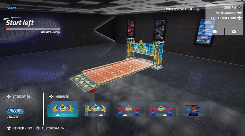 """Hot Wheels Unlimited """"track builder"""" feature preview."""