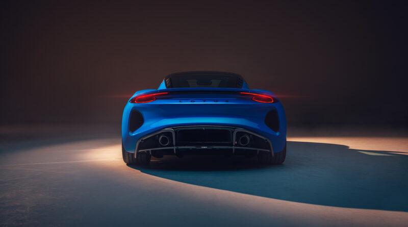 Lotus Emira rear view