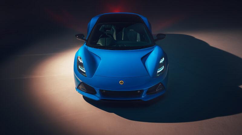 Lotus Emira front view