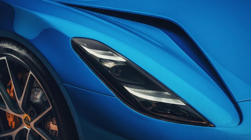 Lotus Emira headlight