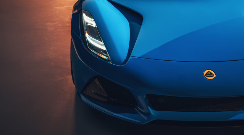 Lotus Emira front end close up