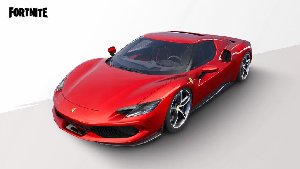 Ferrari 296 GTB in Fortnite
