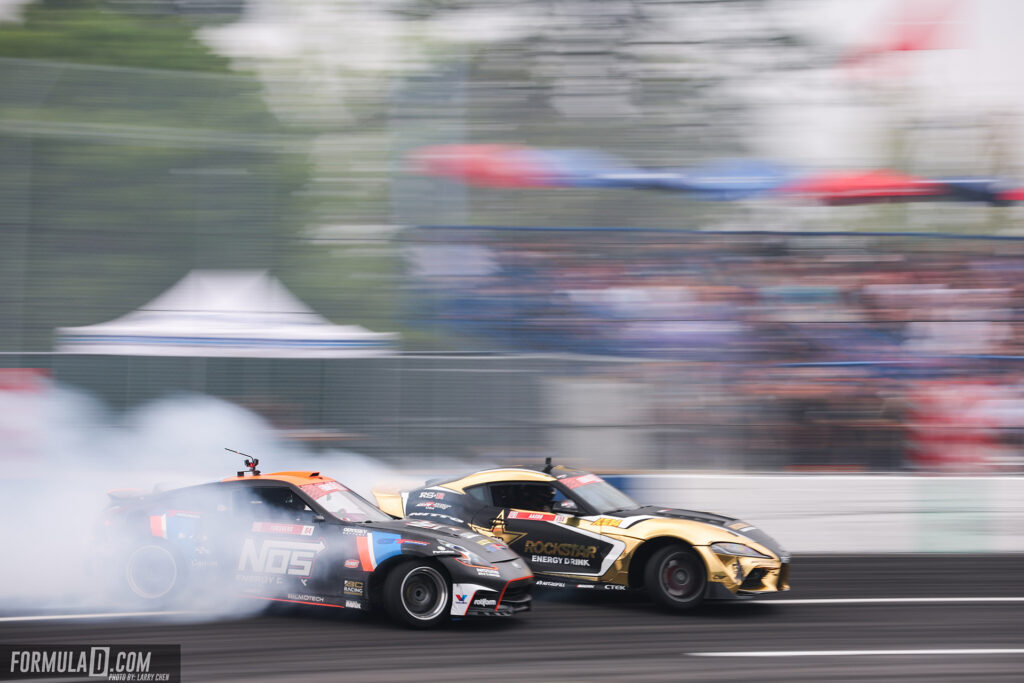 Formula Drift 2021 Seattle. Photo by Larry Chen