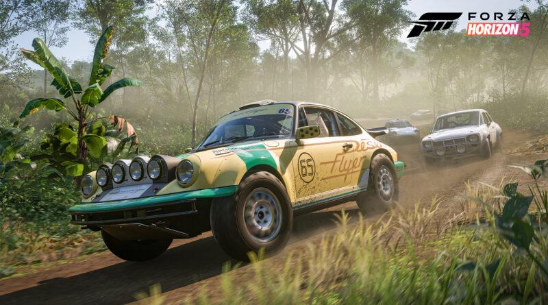 Forza Horizon 5 Porsche 911 Desert Flyer screenshot