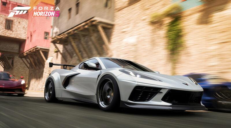 Forza Horizon 5 Corvette C8 widebody screenshot