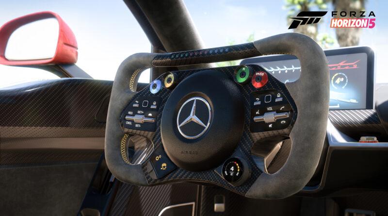 Forza Horizon 5 Mercedes-AMG Project ONE interior shot