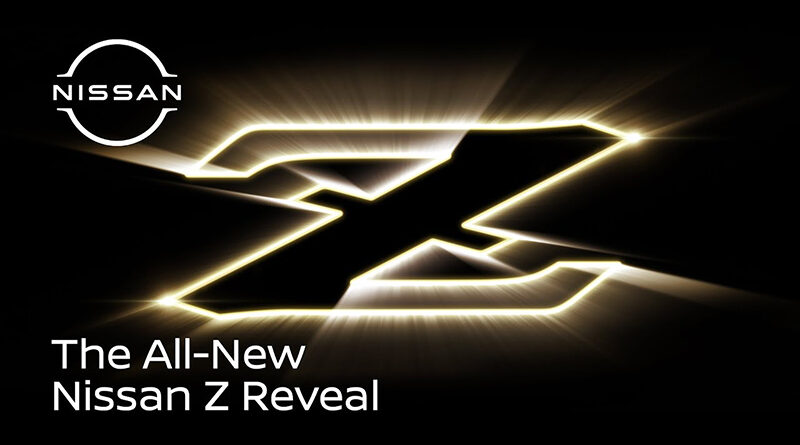 feature graphic for the all-new Nissan Z reveal