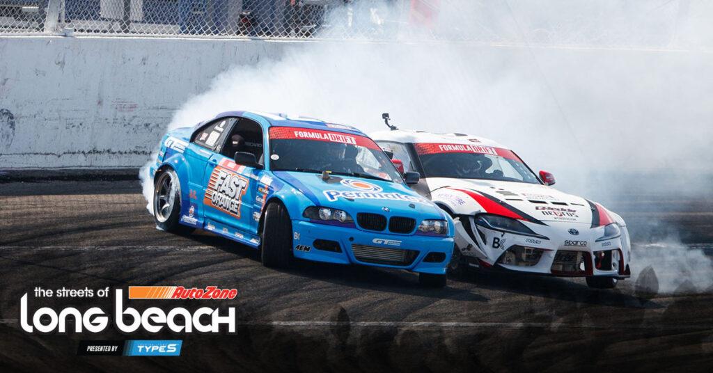 Formula Drift Long Beach 2021 livestream graphic